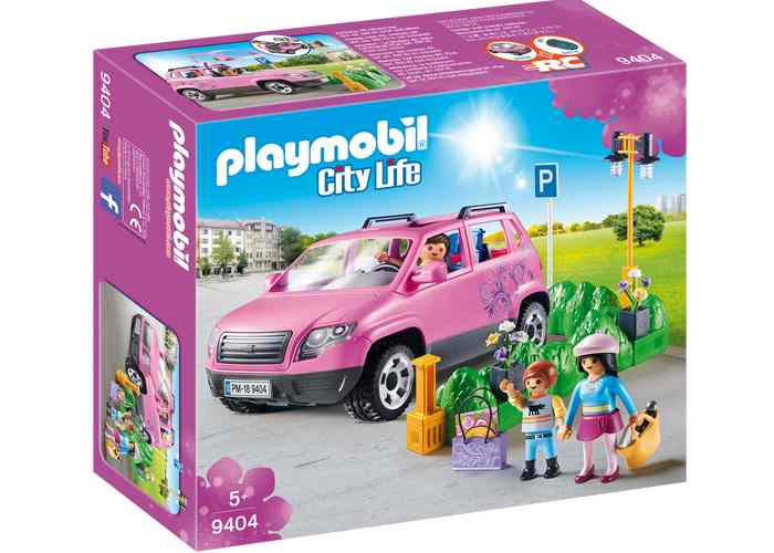 Playmobil 9404 Coche Familiar con estacionamiento playmobil