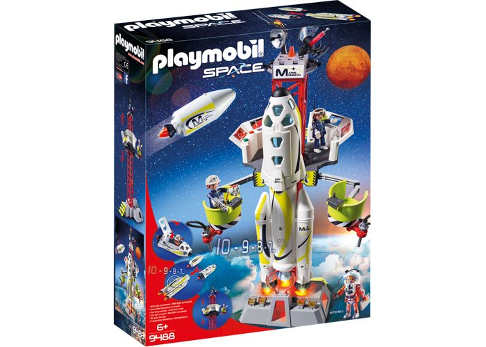 Playmobil 9488 Cohete de Marte SPACE playmobil