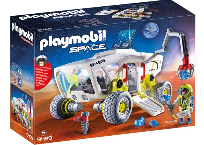 Playmobil 9489 Vehiculo Exploracion Marte SPACE playmobil