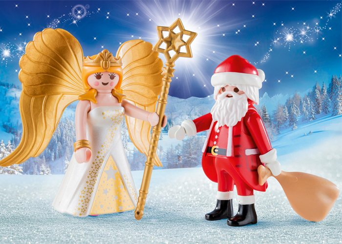 Playmobil 9498 Duo Pack Santa y Angel playmobil
