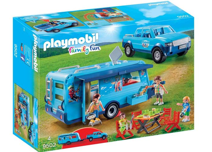 Playmobil 9502 Pickup con Caravana Exclusiva playmobil