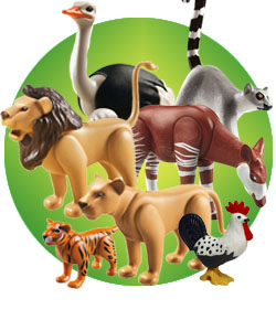 Animales playmobil