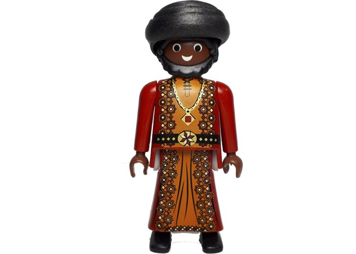 Playmobil Arabe con turbante playmobil