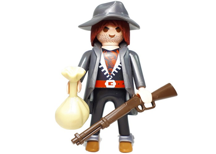 Playmobil Bandido con rifle S12 playmobil