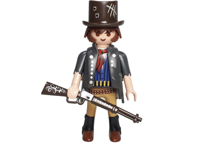 Playmobil Bandido con Winchester Oeste playmobil