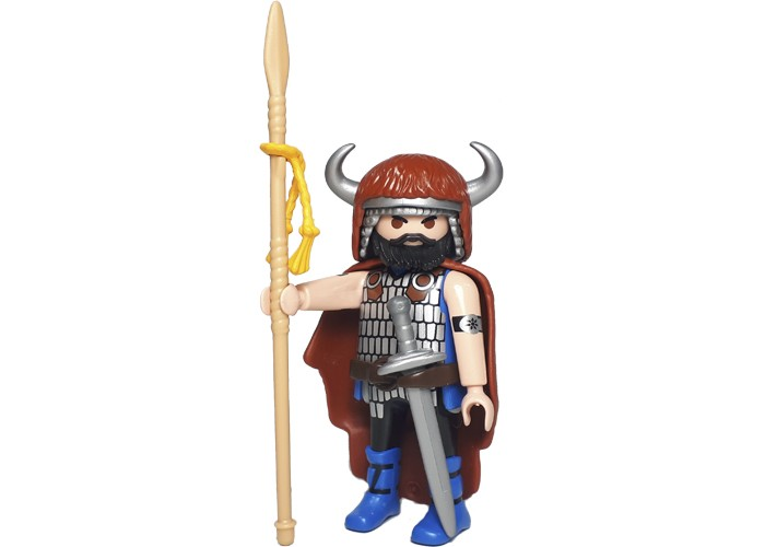 Playmobil Barbaro con lanza playmobil