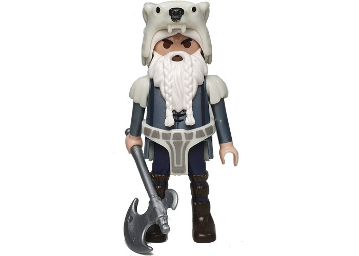 Playmobil Barbaro Cabeza Oso playmobil