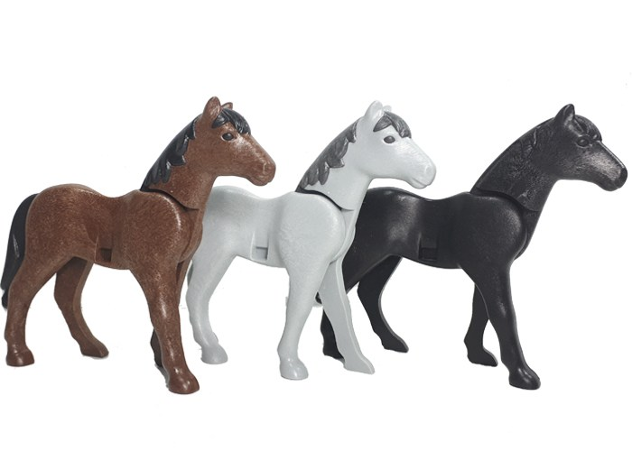 Playmobil Pack Caballos 3 Uds playmobil
