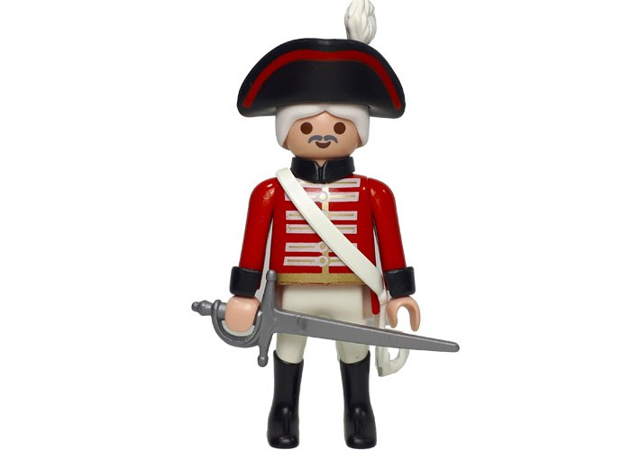 Playmobil Capitan Guardia Ingles playmobil