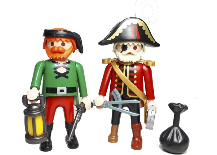 Playmobil Capitan y marinero Piratas playmobil