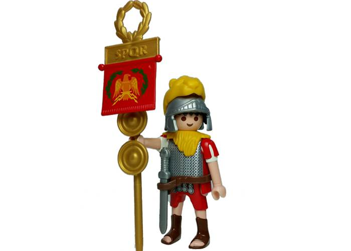 Playmobil Aquilifer romano con estandarte playmobil
