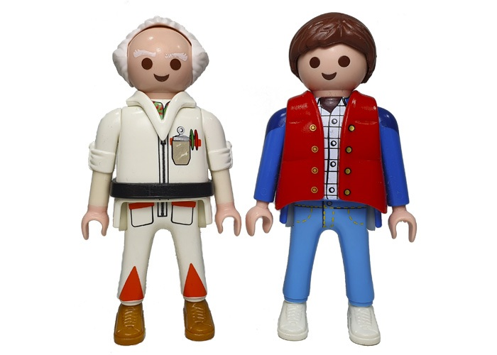 Playmobil Marty & Dr Doc playmobil