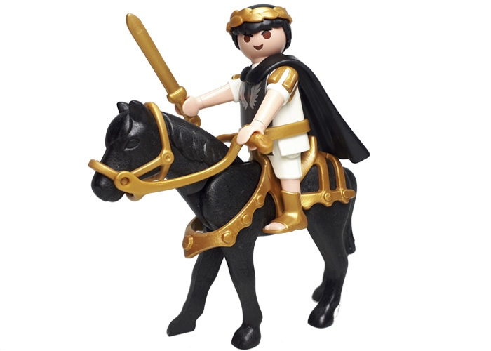 Playmobil General Romano a Caballo playmobil