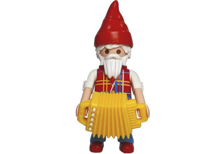 Playmobil Gnomo acordeon S15 playmobil