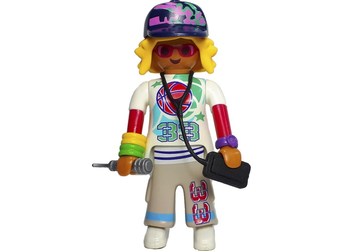 Playmobil Cantante Hip Hop playmobil