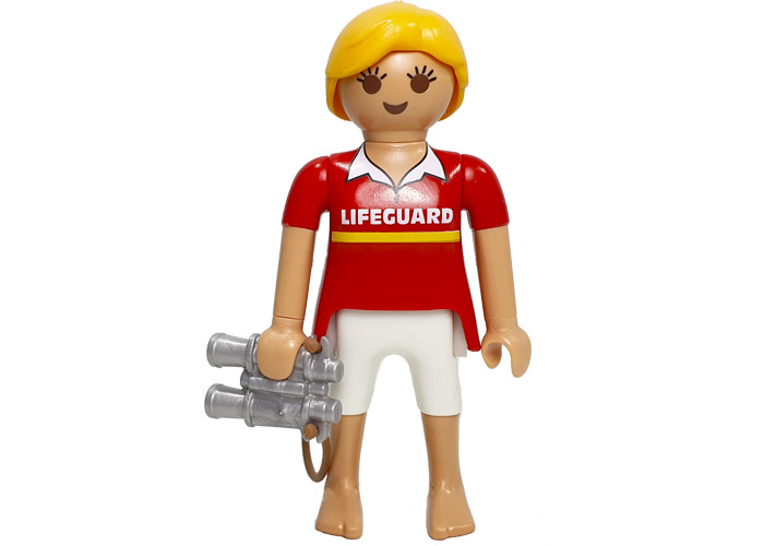 Playmobil Chica Socorrista LifeGuard playmobil