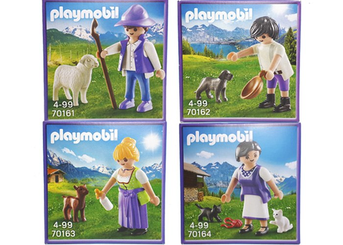 Playmobil Milka Pack 4 Cajas playmobil