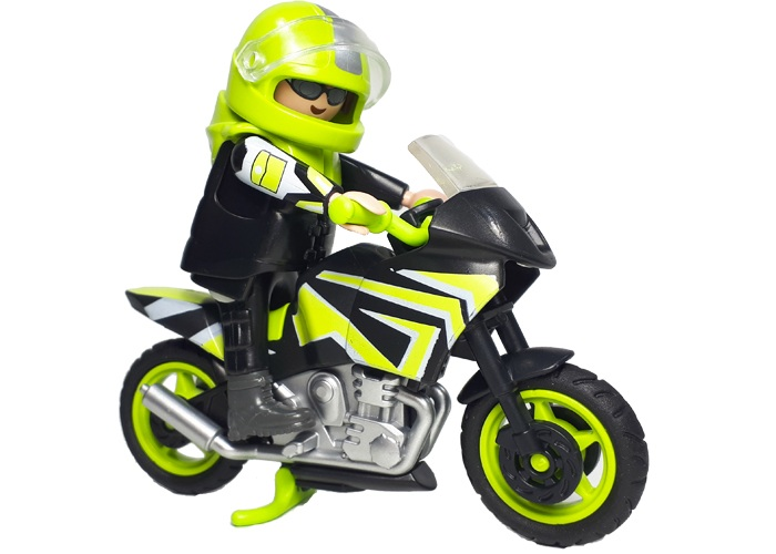 Playmobil Moto Carreras playmobil