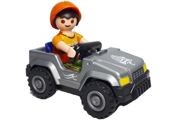 Playmobil Niño con mini coche playmobil