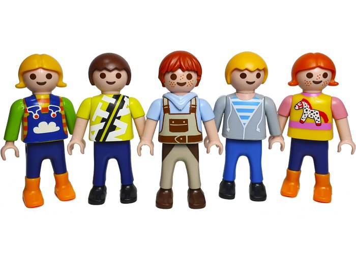 Playmobil Pack Niños V1 playmobil