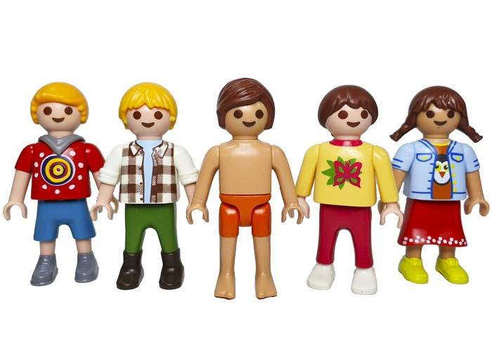 Playmobil Pack Niños V4 playmobil