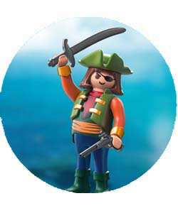 Piratas playmobil