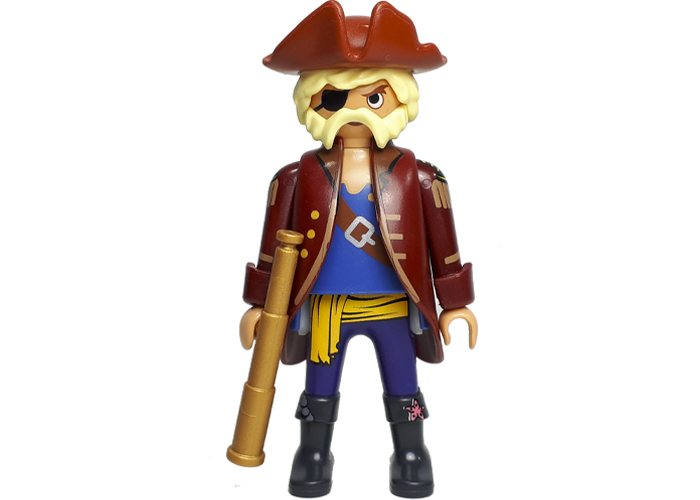 Playmobil Pirata con catalejo playmobil
