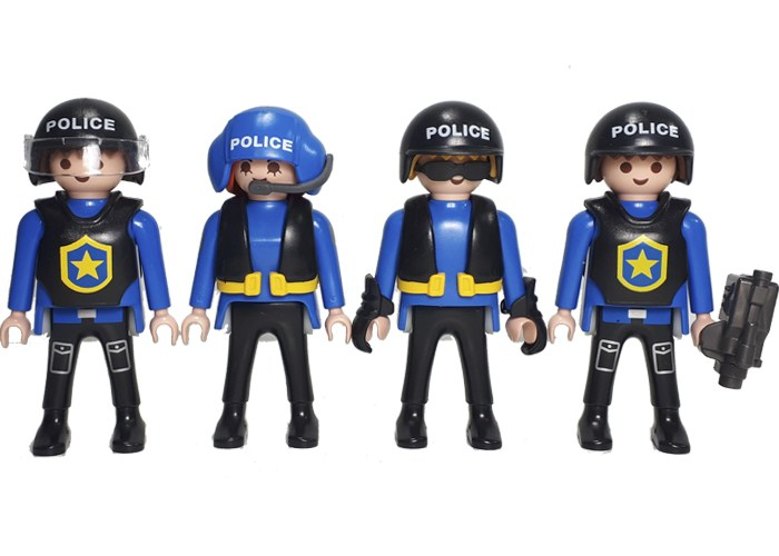 Playmobil Policías Pack 4 playmobil