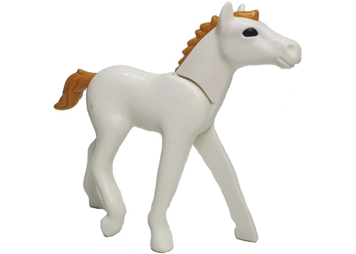 Playmobil Caballo Potro Blanco playmobil