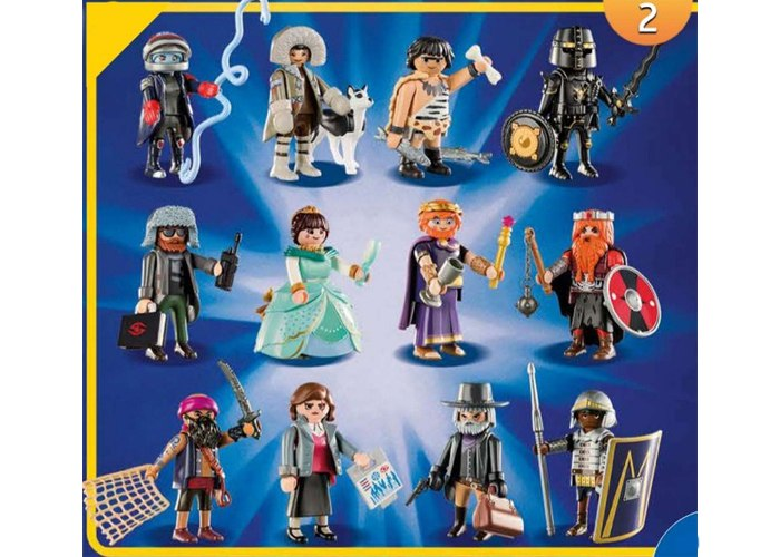 Playmobil Serie 2 The Movie Completa playmobil