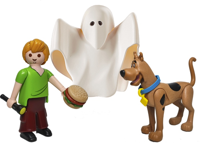 Playmobil Pack Scooby-Doo  playmobil