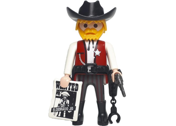 Playmobil Sheriff con esposas playmobil