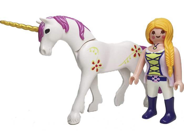 Playmobil Chica con unicornio Magic playmobil